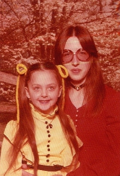 Mom and I in 1977