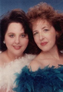 Mom and I at Glamour Shots 95