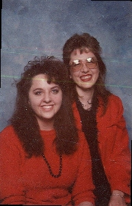 Me and my mom in  '90